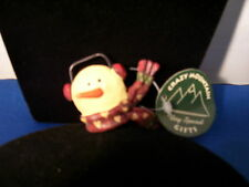Christmas Pin Snowman with Ear Muffs Retired By Crazy Mountain Inc 3