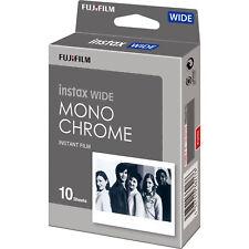 Fujifilm - Instax WIDE Monochrome Black & White Film (10 Sheets) for 210 300