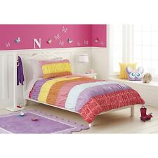 New Circo Warm Banded Collection Comforter Bed Set Twin 5 Pcs