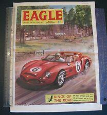 1962  EAGLE comic ferrari  jim clarke Phil  hill original autocourse f1 Le mans