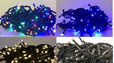 50  100 140 180 LED 8 Effekte Lichterkette Weihnachten  Tannenbaum innen/außen