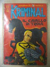 KRIMINAL FUMETTO NOIR N. 61 EDITORIALE CORNO 1966 - FUM0