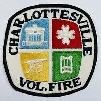 Charlottesville Volunteer Fire Department Virginia VA Patch (E2)