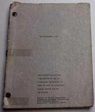 The Godfather: Part III * 1978 Movie Script Screenplay, ALEXANDER JACOBS DRAFT