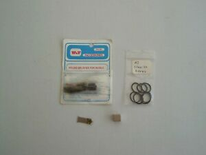 Hornby Dublo class 20 spares, tyres, motor brushes and a neodymium magnet