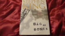Stephen King  Novel  'Bag Of Bones'  Hardback Book 1998 Edition /Dustcover  SK17