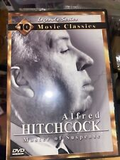 Alfred Hitchcock Master Of Suspense 10 Movie Classics Legends Series VG