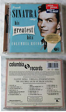 Frank Sinatra Sings His Greatest Hits ..  1997 USA Brown Columbia CD
