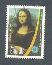 Mona Lisa Painting - Art -Ireland single value fine used