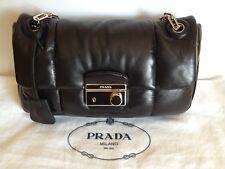 NWT PRADA Bomber Effect Leather Shoulder Bag B5023L