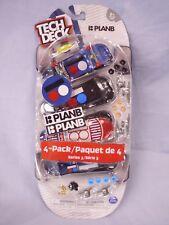 Tech Deck - 96mm Fingerboards - 4-Pack-Series 3- Plan B, Finger Skate Boards
