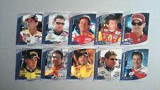 2000 Upper Deck Maxximum Cruise Control 10-Card NASCAR Die Cut Insert Set