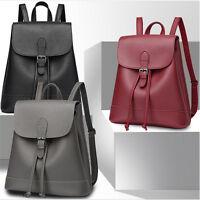 Fashion Young Women Backpack Bag 2017 Shoulder PU Leather School Girls Handbag