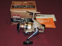 Nice Vintage Daiwa B-150 RL Bronze Series Medium Spinning Reel W/Box Works Great