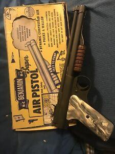 Benjamin Franklin model 132 .22 caliber pump pellet pistol