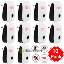 10x Electronic Ultrasonic Anti Pest Repeller Mosquito Bug Cockroach Mouse Killer