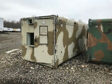Military Communications Shelter, Big. Aluminum. Used. For an M-series truck