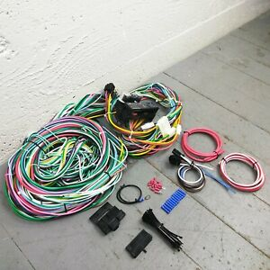 1955 - 1958 Chevrolet Full Size Wire Harness Upgrade Kit fits painless complete