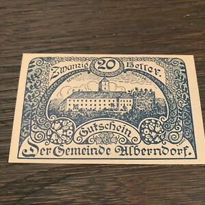 AUSTRIA BANKNOTE - 20 HELLER - 1920 - FREE SHIPPING
