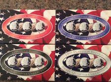 1999 State Quarter Collection Platinum, Gold, Denver, & Philadelphia COA 4 Sets