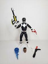 "New listing Hasbro Power Rangers Lightning Collection Mighty Morphin Black Ranger Zack 6"""