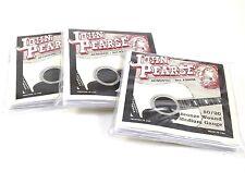 John Pearse Guitar Strings 3 Pack Acoustic  Medium #300M Bronze Wound