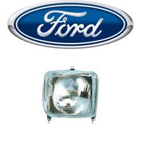 Faro Anteriore Ford TRANSIT MK2 Fanale Proiettore H4 dal 1978 al 1985 Sinistro