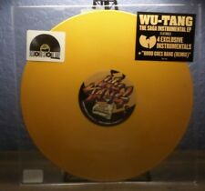 WU-TANG THE SAGA INSTRUMENTAL EP RSD COLOR RECORD HOOD GOES BANG FROZEN