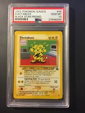 200 Pokemon Black Star Promo Electabuzz #46 PSA 10 Gem Mint POP 16!!!