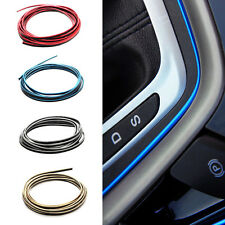 5M Car Grille Interior/Exterior Decoration Chrome Styling Molding Trim Strip New