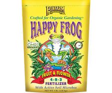 Fox Farm Happy Frog Organic Fruit and Flower 4-9-3 Fertilizer 4 Lb Free Shipping
