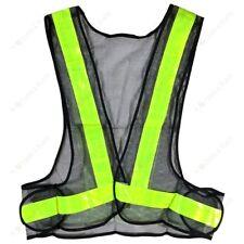 Yellow High Viz Hi Vis Visibility Vest Safety Waistcoat Jacket See Through Mesh