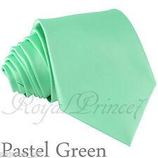 New Men's Pastel Green SelfTie Neck tie Tie Formal Party Wedding Prom 100DDD
