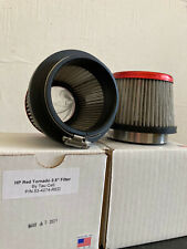 """53-4274-RED performace air filters 2.5"""" TAUCETI set of two filtri aria"""