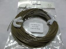 New listing Cote's Fly Shop private label fly line Wf6S Brown sink rate T3