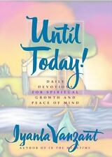 Until Today by Iyanla Vanzant Hardcover book FREE SHIPPING Daily Devotions