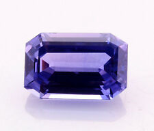 GIA Certified Blue Sapphire(Color Change)  8.33ct.Emerald cut Exceptionally Rare
