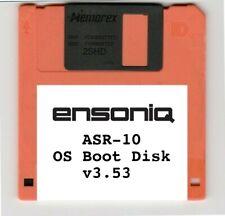 Ensoniq ASR-10 OS Operating System Boot Disk v3.53 - US Seller! NEW