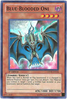 3 x Yu-Gi-Oh Card - GENF-EN034 - BLUE-BLOODED ONI (super rare holo) - NM/Mint