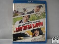 The Brothers Bloom (Blu-ray Disc, 2010) Mark Ruffalo Adrien Brody Rachel Weisz