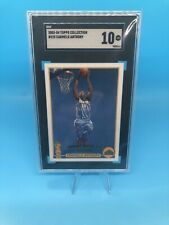 2003 Topps Collection #223 Carmelo Anthony RC Rookie Nuggets SGC 10 - Pop Of 3!