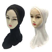 New Full Cover Inner Hijab Caps Islamic Hats Under Scarf Muslim Women Head Wrap