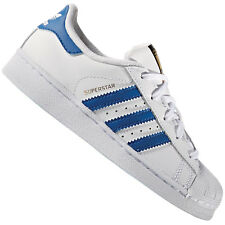 Adidas Scarpe sportive bianche Superstar Foundation C Bianco 28