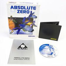 Absolute Zero for PC CD-ROM in Big Box by Domark Software, CIB, Sci-Fi