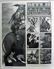 PETZ II FANGS & FEMALES Portfolio- FASTNER & LARSON (M1758)
