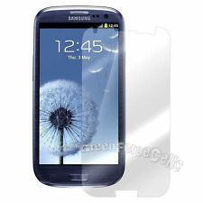 3 x Clear Screen Shield Protector Front For Samsung Galaxy S3 SIII I9300