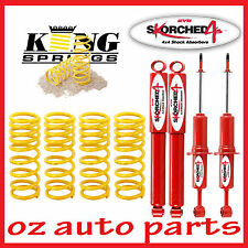 "NISSAN PATHFINDER R51 KYB SHOCK ABSORBERS & COIL SPRINGS 2""INCH 50MM LIFT KIT"