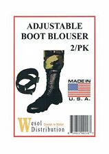 Adjustable- Flexible Boot Blousers - MADE IN THE USA!