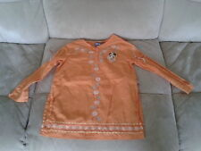 Girls 5 Years - Orange Long Sleeved Embroidered Blouse - Disney's Minnie Mouse