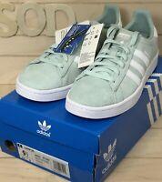 NEW Men's Adidas Originals Campus Shoes Sneakers Size: 9.5 Ash Green DB0982